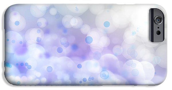 Soft iPhone Cases - Abstract background iPhone Case by Les Cunliffe