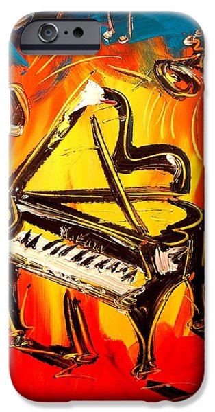 The White House Photographs iPhone Cases - Piano iPhone Case by Mark Kazav