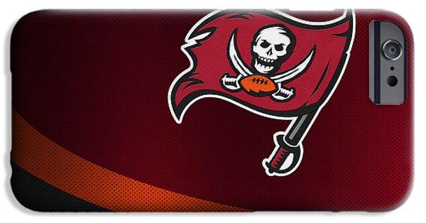 Buccaneer iPhone Cases - Tampa Bay Buccaneers iPhone Case by Joe Hamilton
