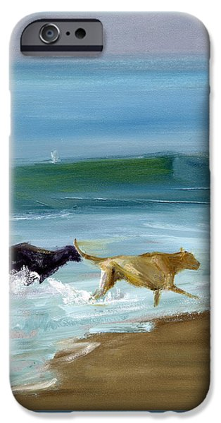 Best Friend iPhone Cases - RCNpaintings.com iPhone Case by Chris N Rohrbach