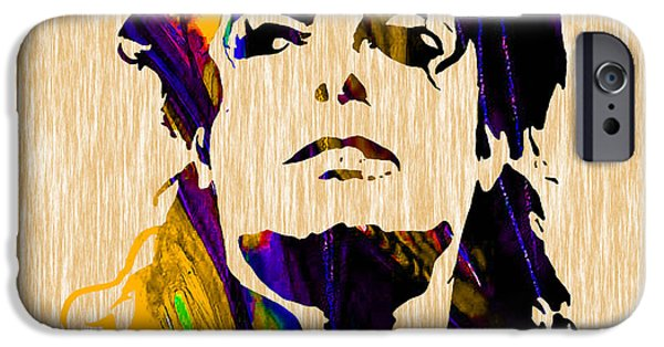 King Of Pop. Dancer iPhone Cases - Michael Jackson iPhone Case by Marvin Blaine