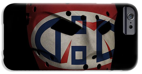Montreal Canadiens iPhone Cases - Montreal Canadiens iPhone Case by Joe Hamilton