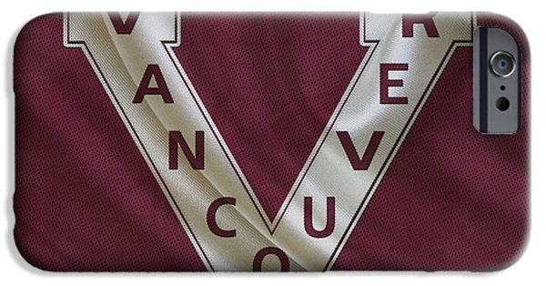 Vancouver Photographs iPhone Cases - Vancouver Canucks iPhone Case by Joe Hamilton