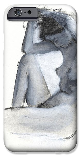 Figures iPhone Cases - RCNpaintings.com iPhone Case by Chris N Rohrbach