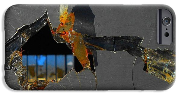 Rust Glass iPhone Cases - Untitled iPhone Case by Vincent Cherib