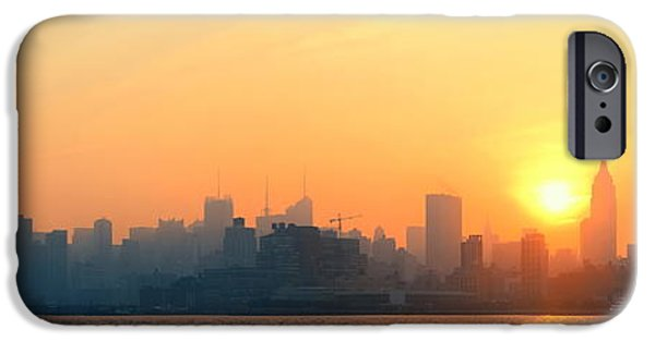 Recently Sold -  - Empire State iPhone Cases - New York City skyscrapers iPhone Case by Songquan Deng