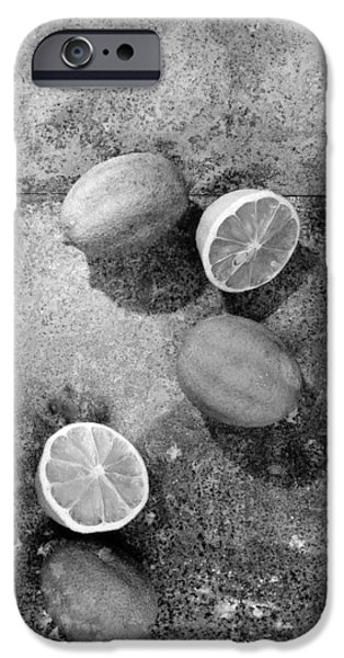 Lemon iPhone Cases - Untitled iPhone Case by Didier Gaillard