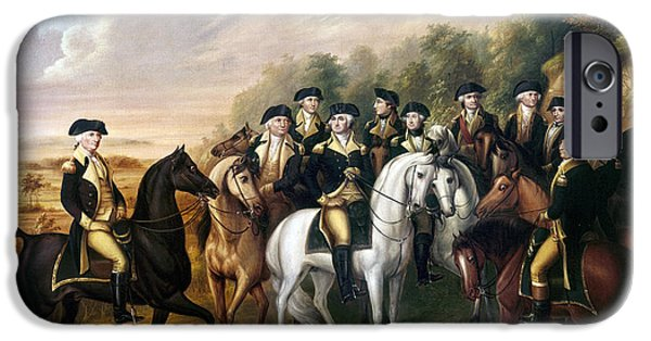Patriots iPhone Cases - George Washington iPhone Case by Granger