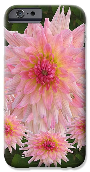 Recently Sold -  - Abstract Digital Mixed Media iPhone Cases -  Abstract Flower Floral Photography and digital painting combination mixed media by NavinJOSHI       iPhone Case by Navin Joshi