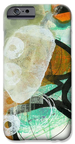 Drawing Paintings iPhone Cases - 3/100 iPhone Case by Jane Davies