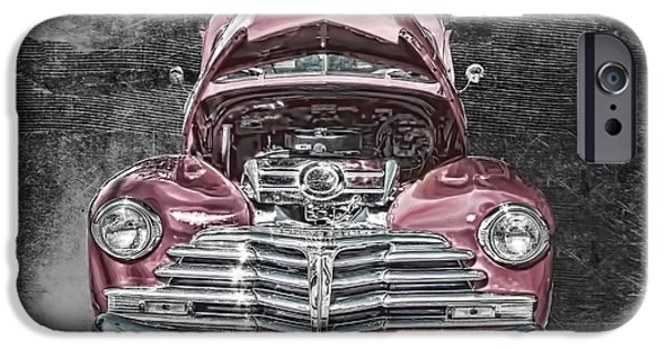 Vintage Cars iPhone Cases - 1948 Chevy 2100 FK Fleetmaster iPhone Case by Lesa Fine