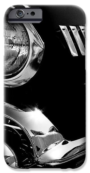 1958 Chevy Impala iPhone Case by David Patterson