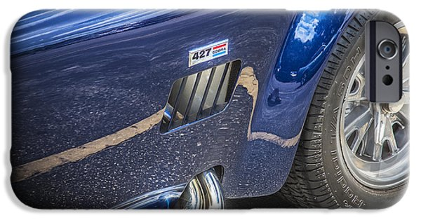 Carroll Shelby iPhone Cases - 1965 Ford AC Cobra 427 iPhone Case by Rich Franco