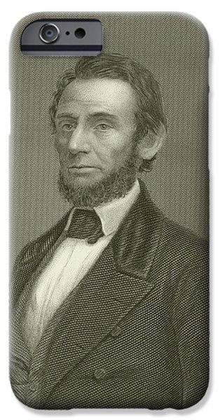 Assassinated iPhone Cases - Abraham Lincoln iPhone Case by English School