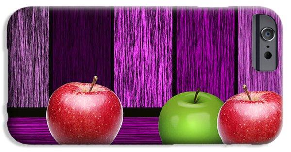Fruit iPhone Cases - Apple Farm iPhone Case by Marvin Blaine