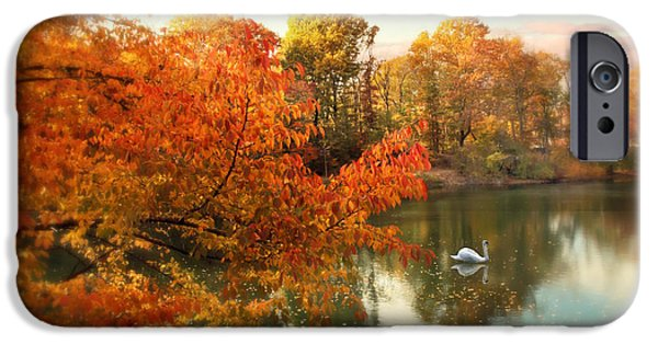 Autumn iPhone Cases - Autumn Splendor iPhone Case by Jessica Jenney