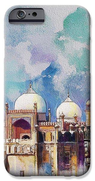 Badshahi Mosque iPhone Case by Catf