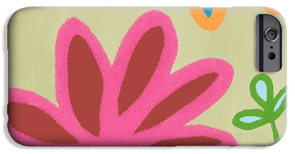 Shape iPhone Cases - Bali Garden iPhone Case by Linda Woods