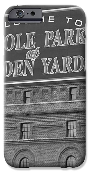 Baltimore Orioles Park at Camden Yards iPhone Case by Frank Romeo