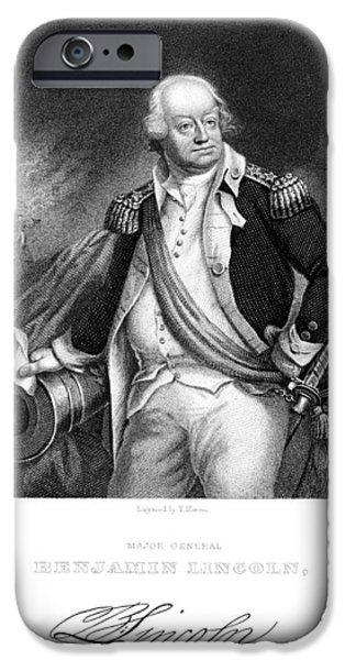 American Revolution iPhone Cases - Benjamin Lincoln iPhone Case by Granger