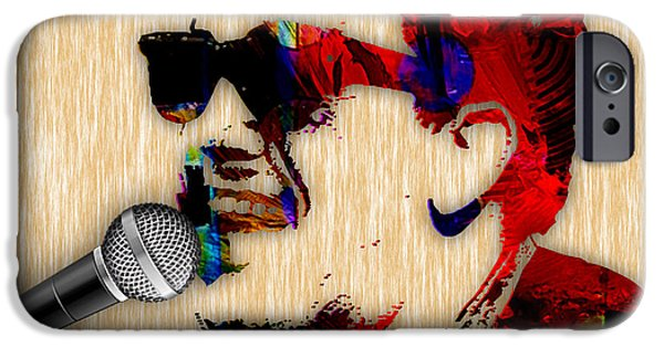 Celebrities iPhone Cases - Billy Joel Collection iPhone Case by Marvin Blaine