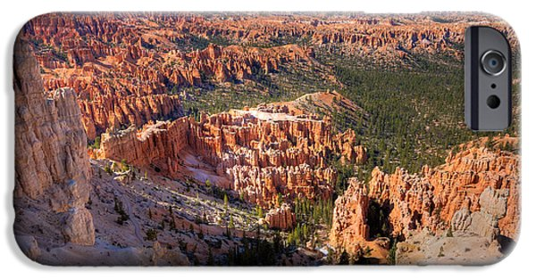 Shape iPhone Cases - Bryce Canyon iPhone Case by Alexey Stiop
