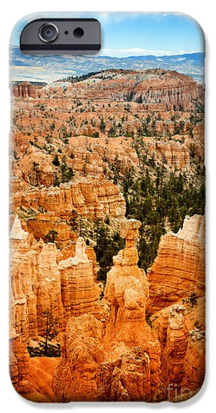 Thor iPhone Cases - Bryce Canyon iPhone Case by Jane Rix