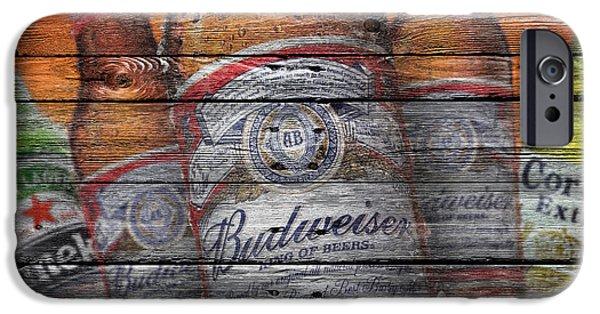 Draft iPhone Cases - Budweiser iPhone Case by Joe Hamilton