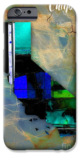 California iPhone Cases - California Map Watercolor iPhone Case by Marvin Blaine