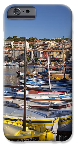 Cassis Boats iPhone Case by Brian Jannsen