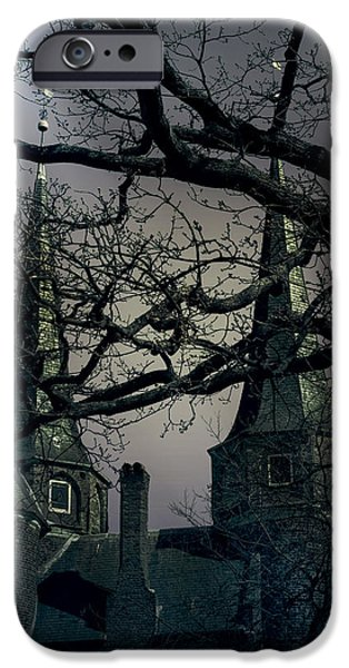 Creepy iPhone Cases - Castle iPhone Case by Joana Kruse