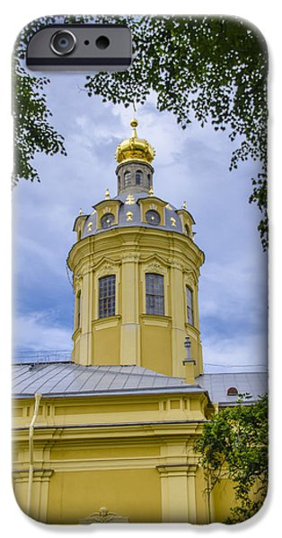 St John The Russian iPhone Cases - Cathedral of Saints Peter and Paul - St Petersburg - Russia iPhone Case by Jon Berghoff