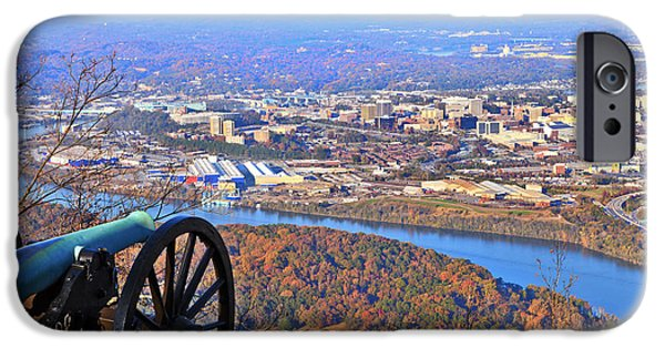 Best Sellers -  - Built Structure iPhone Cases - Chattanooga in Autumn iPhone Case by Melinda Fawver