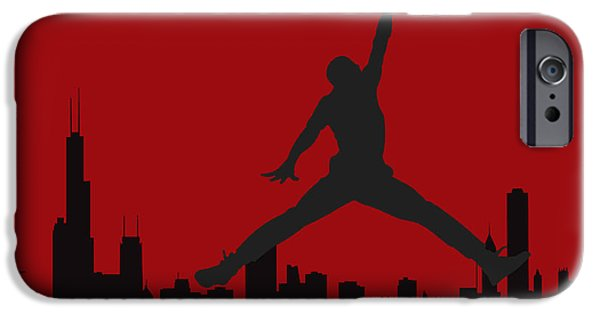 Michael Photographs iPhone Cases - Chicago Bulls iPhone Case by Joe Hamilton