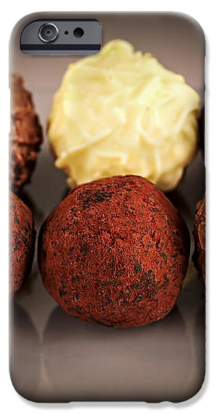 Chocolate truffles iPhone Case by Elena Elisseeva