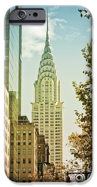 Recently Sold -  - Empire State iPhone Cases - Chrysler Building iPhone Case by Newyorkcitypics Bring your memories home