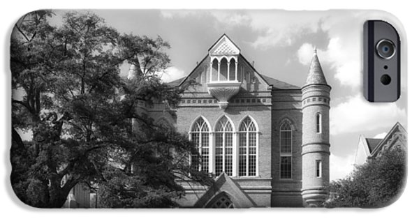 University Of Alabama iPhone Cases - Clark Hall - University of Alabama iPhone Case by Mountain Dreams