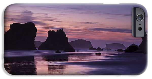 Fine Art Photo iPhone Cases - Coastal Reflections iPhone Case by Andrew Soundarajan