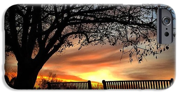 Fort Collins iPhone Cases - Colorado Sunrise iPhone Case by Brittany  Carlson