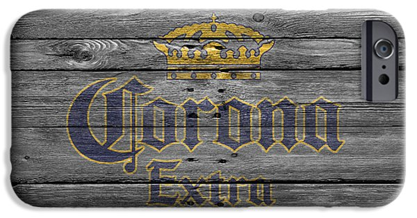 Sign iPhone Cases - Corona Extra iPhone Case by Joe Hamilton