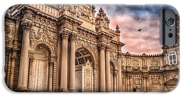 Built Structure iPhone Cases - Dolmabahce Palace iPhone Case by Dobromir Dobrinov