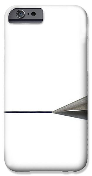 Drawing The Line iPhone Case by Allan Swart