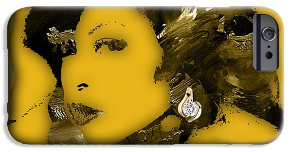 Cookie iPhone Cases - Empires Cookie Taraji P. Henson iPhone Case by Marvin Blaine