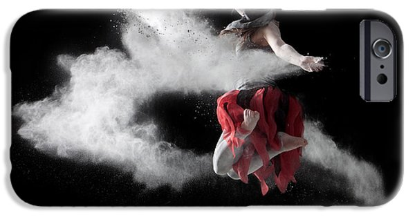 Band Photo iPhone Cases - Flour Dancer Series iPhone Case by Cindy Singleton