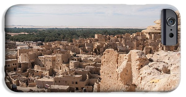 Town iPhone Cases - Fortress of Shali iPhone Case by Carol Ailles