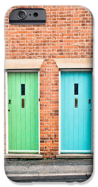 Entrance Door Photographs iPhone Cases - Front doors iPhone Case by Tom Gowanlock