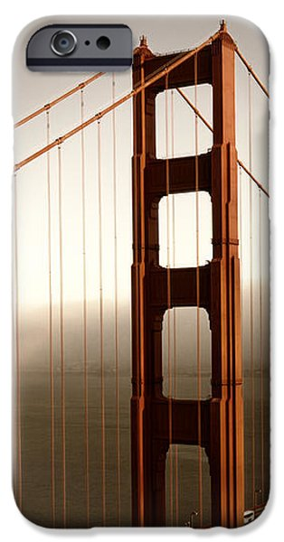 Recently Sold -  - River iPhone Cases - Golden Gate Bridge iPhone Case by Melanie Viola