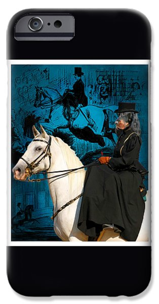 Gordon Setter iPhone Cases - Gordon Setter Art Canvas Print iPhone Case by Sandra Sij