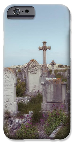Creepy iPhone Cases - Graveyard iPhone Case by Joana Kruse