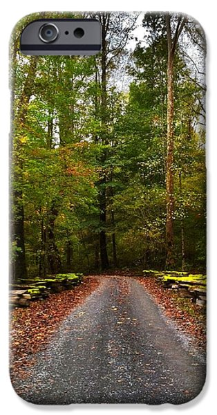 Autumn Jewelry iPhone Cases - Great Smoky Mountains iPhone Case by Janice Spivey